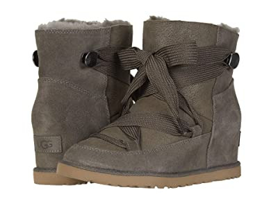 UGG Classic Femme Lace-Up (Slate) Women