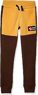 SOUTHPOLE Boys Fashion Fleece Jogger Pants Pants - Black - X-Large