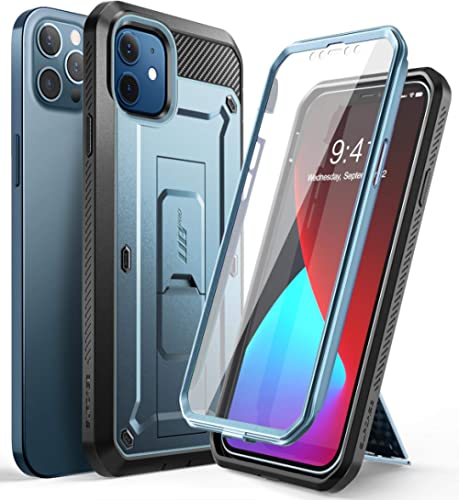 SUPCASE Unicorn Beetle Pro Series Case for iPhone 12 / iPhone 12 Pro (2020 Release) 6.1 Inches, Built-in Screen Prote...