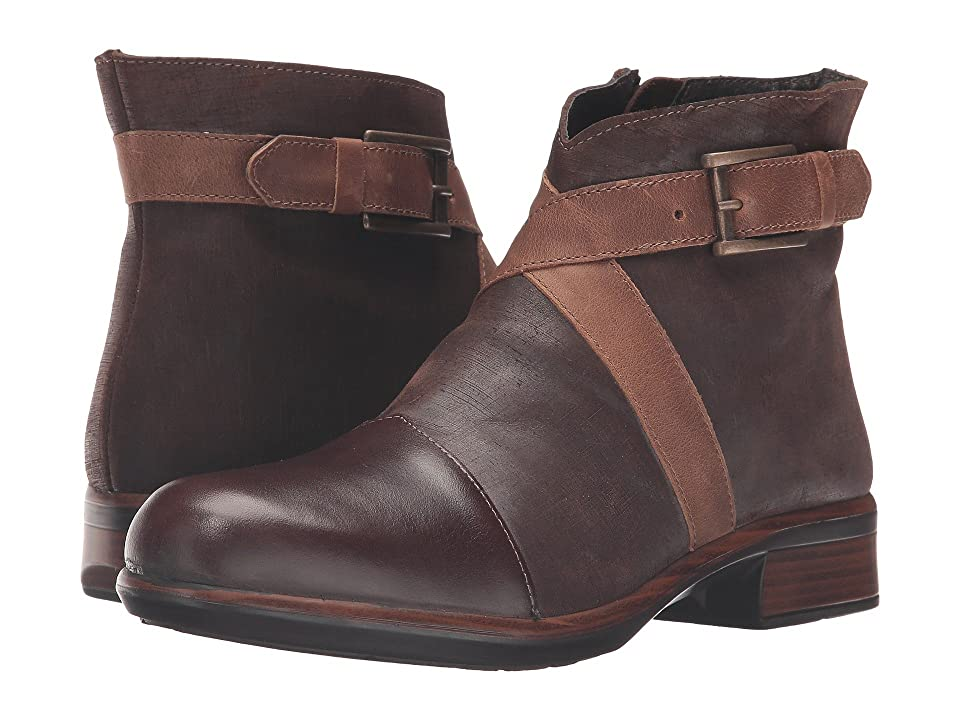 Naot Boreas (Walnut Leather/Mine Brown Leather/Saddle Brown Leather) Women