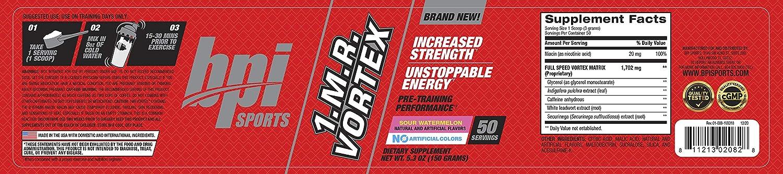 Buy Bpi Sports 1 M R Vortex Pre Workout Powder Sour Watermelon 5 3 Ounce Online In Indonesia B00la6csxa