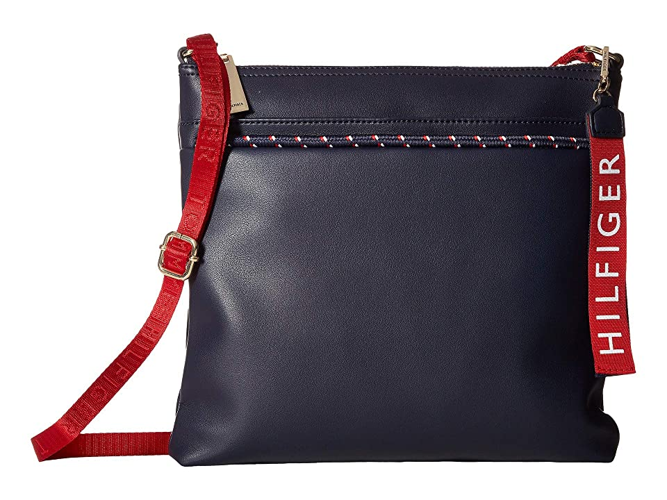 Tommy Hilfiger Devon North/South Crossbody (Tommy Navy) Cross Body Handbags