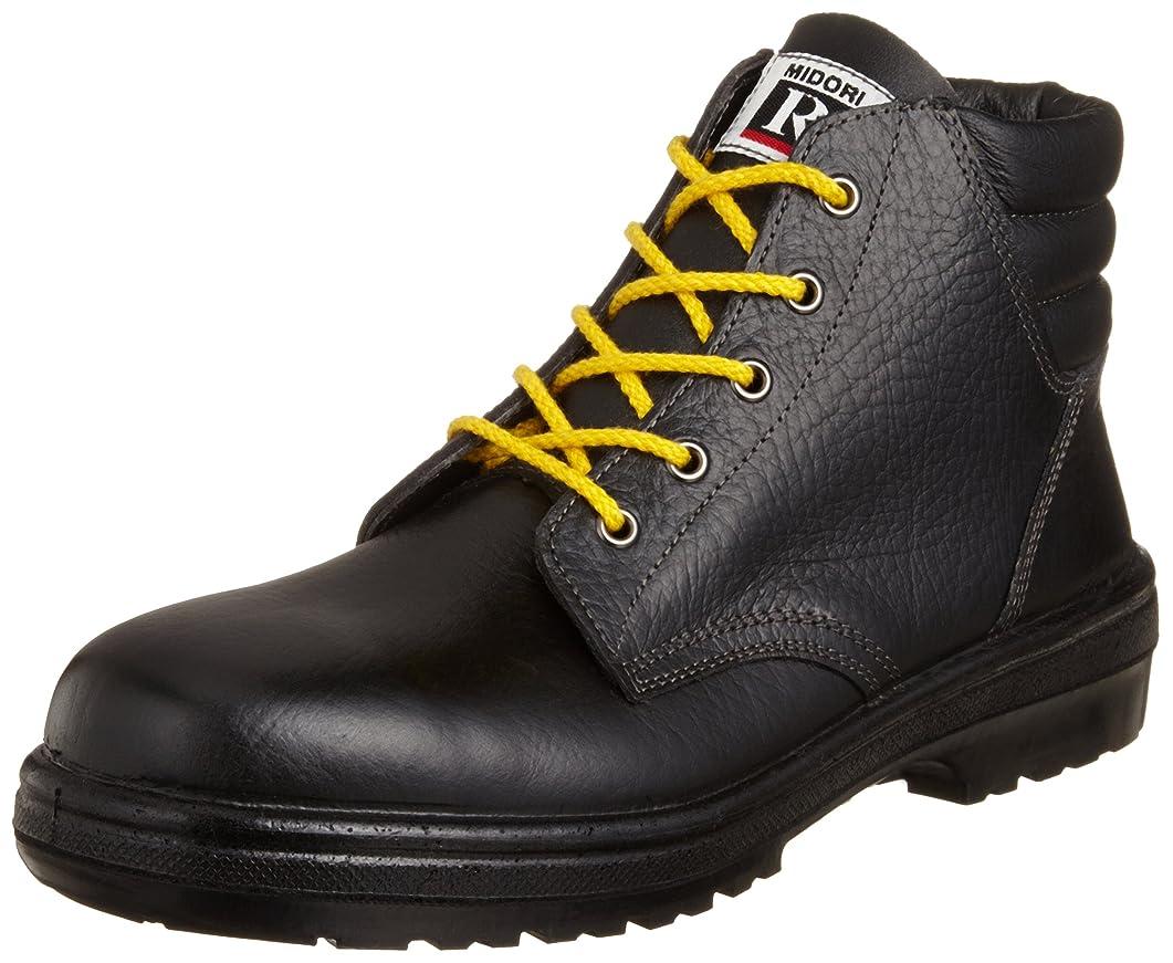 デンマーク語ドレインアジア人[ミドリ安全] 静電安全靴 JIS規格 中編上靴 ラバーテック RT920 静電 メンズ