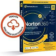 Norton 360 Premium 2021 - Antivirus software para 10 Dispositivos y 1 año de suscripción con renovación automática, Secure...
