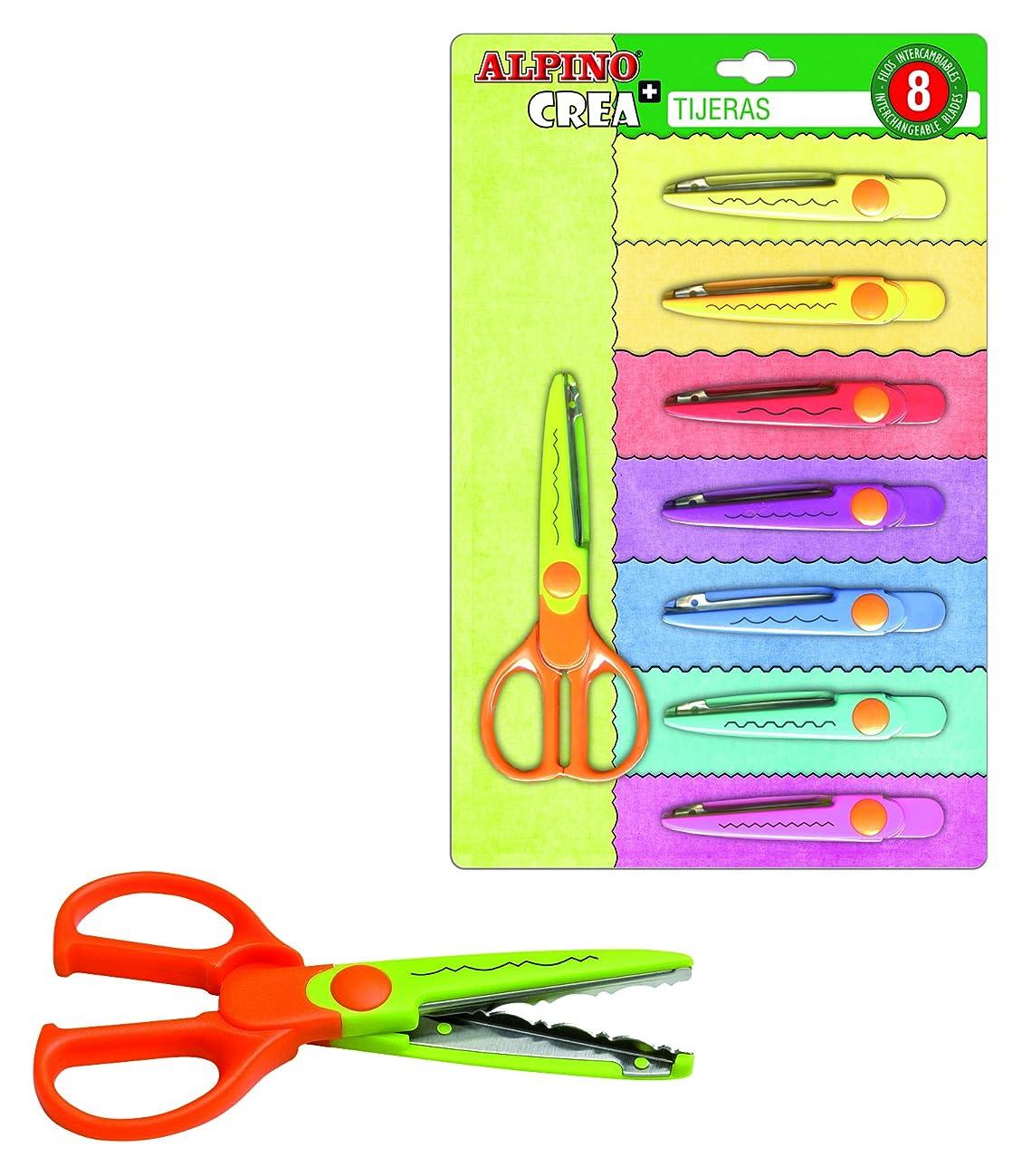 Alpine PT0030?–?Pack of Scissors, 8?Special Blades