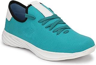 HEEDERIN Men's Sky Blue Mesh Lace up Comfortable/Lightweight/Walking/Running/Sport/Gym 8 UK