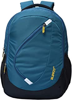 Blowzy Bags 35L Water Resistant Casual Backpack - 3 Compartments, Anti - Theft Internal Organiser, 1 Year Warranty (Sky Blue)