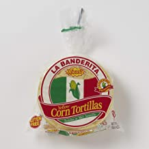 "La Banderita Yellow Corn Tortillas | 5.5"" Size 