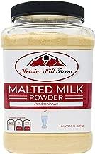 Old-fashioned Malted Milk Powder by Hoosier Hill Farm, 1.5 lbs.