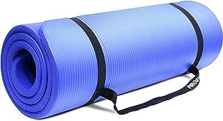 comprar comparacion PROIRON Colchonetas de Yoga Antideslizante Espesa para Pilates, Gimnasio Fitness or en Casa con Tirante -180cm x 61cm x 15mm