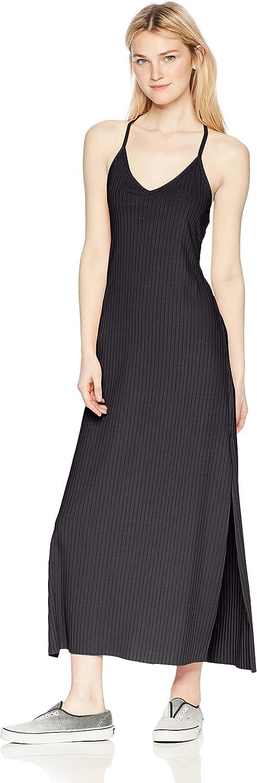 Lira Womens Ashlynn Ribbed Maxi Dress Dress