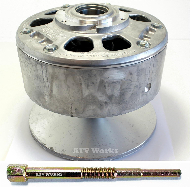 Kawasaki Gas Mule 2500/2510 / 2520 Drive Clutch Converter OEM 49093-1064/49093-1052 w/Replacement Puller Tool