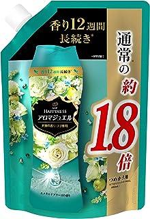レノア ハピネス アロマジュエル ビーズ 衣類の香りづけ専用 エメラルドブリーズ 詰め替え 約1.8倍(805mL/482g)