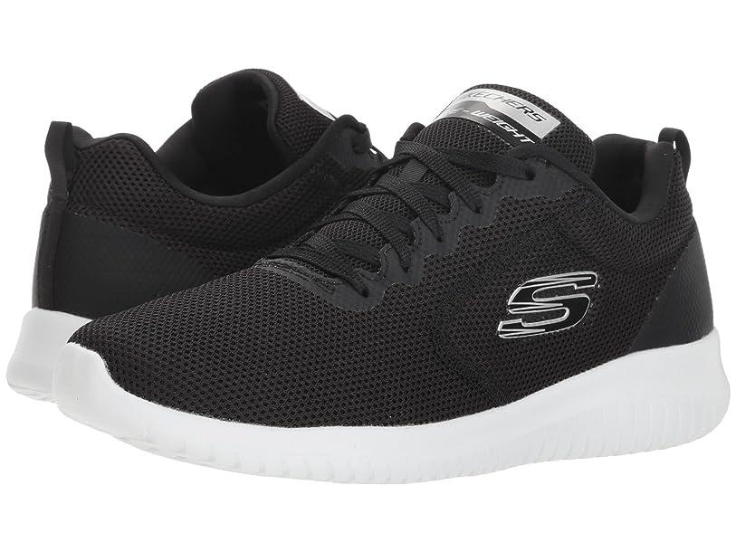 許さない権利を与えるおレディーススニーカー?ウォーキングシューズ?靴 Ultra Flex - Free Spirits Black/White 9.5 (26.5cm) B [並行輸入品]
