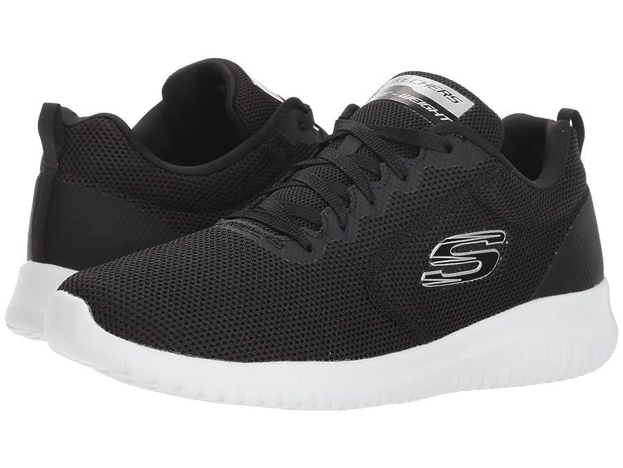 フィードオン深さそれレディーススニーカー?ウォーキングシューズ?靴 Ultra Flex - Free Spirits Black/White 5 (22cm) B [並行輸入品]