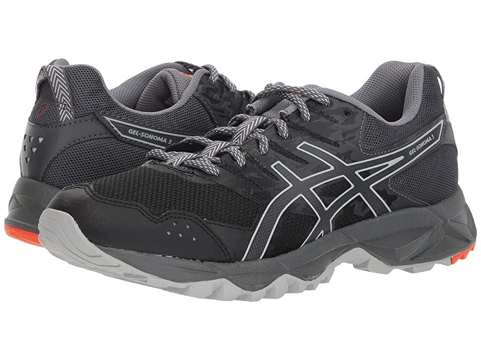 ASICS GEL-Sonoma 3 (Black/Dark Grey) Women