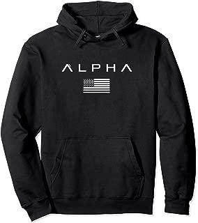 alpha flag hoodie