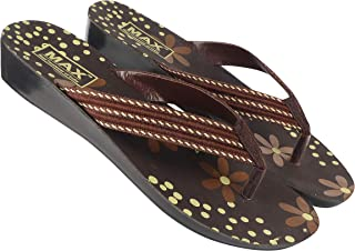 Camfoot-5017 Brown Exclusive Range of Flats Slippers for Women