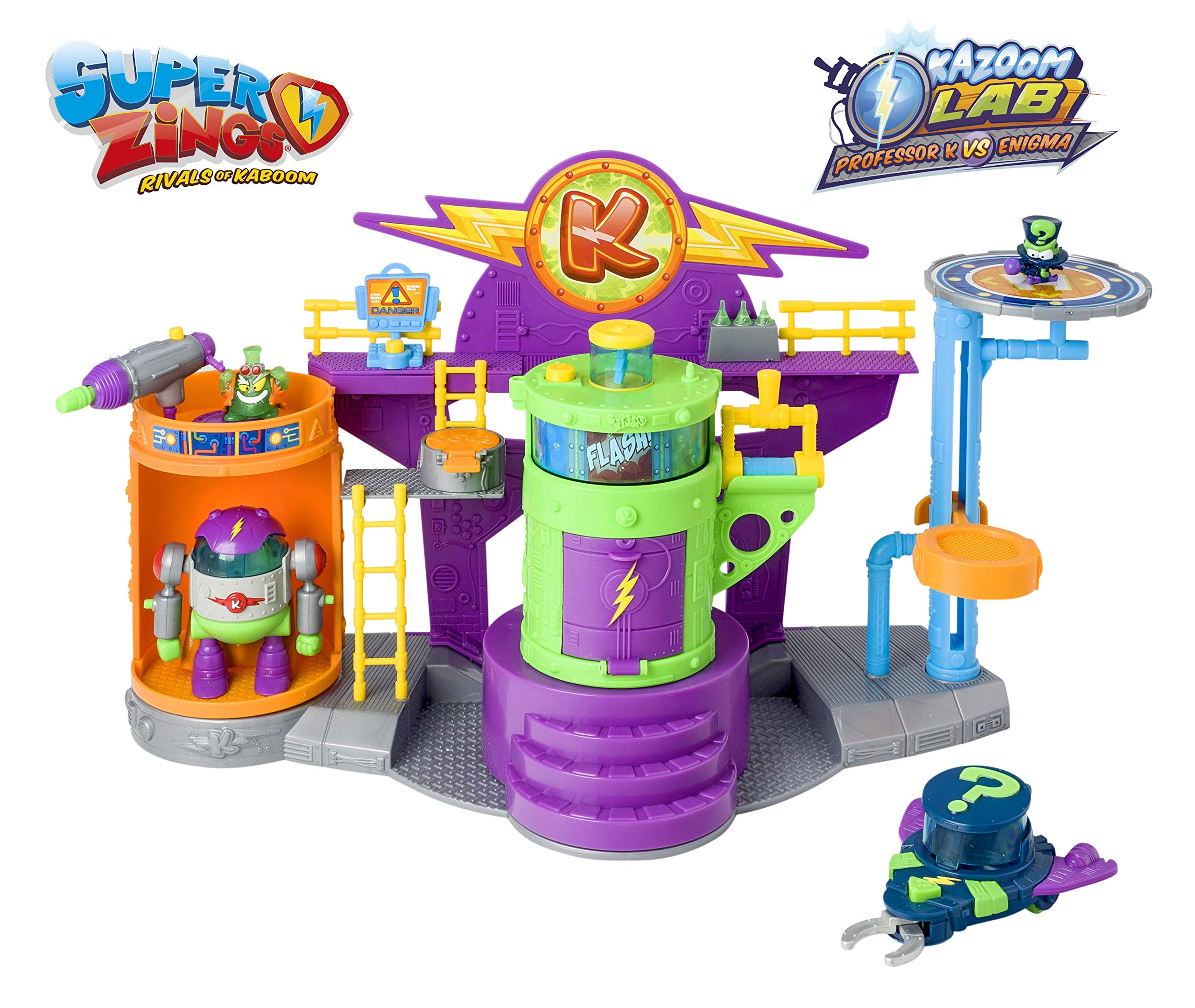Superzings - Kazoom Lab Battle con únicas y exclusivas figuras de ...