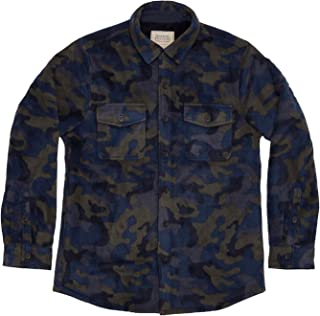 Mens Sherpa Lined Flannel Shirt