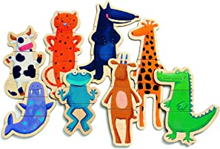 DJECO Crazy Wooden Magnets