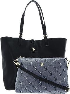 U.S. POLO ASSN. Malibu Shopper Tasche mit Wendefunktion 34 cm
