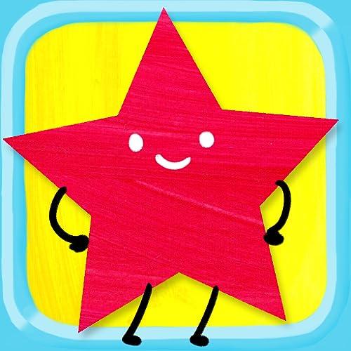 Puzzle de Formas para Niños   ¡Círculos, triángulos, rectángulos y mucho más! Juego de aprendizaje de formas y colores infantil Para niños de preescolar y jardín los niños y los pequeñines