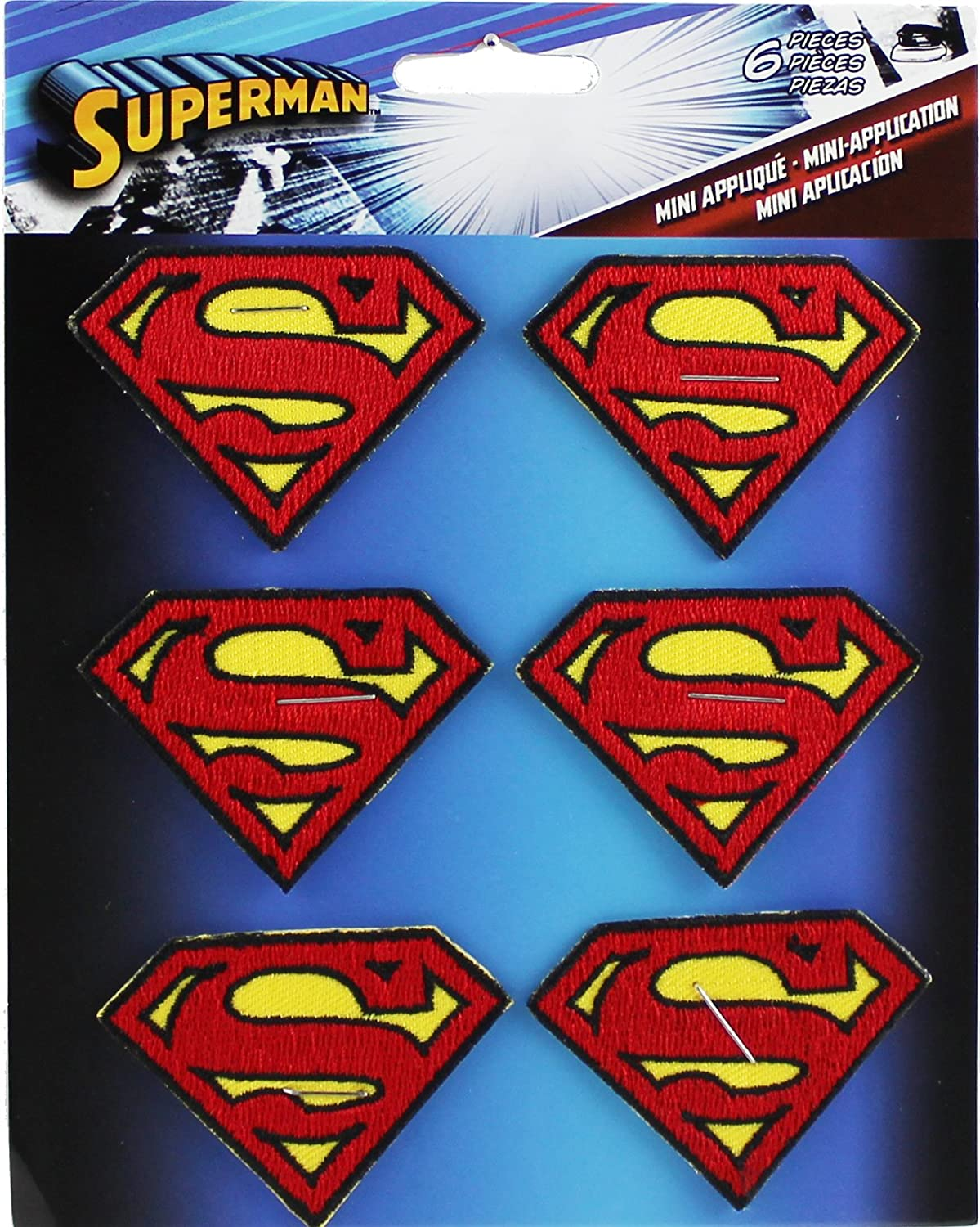 CD Visionary Reservation Application DC Comics Superman Re Discount is also underway 6 Logo Set Patch