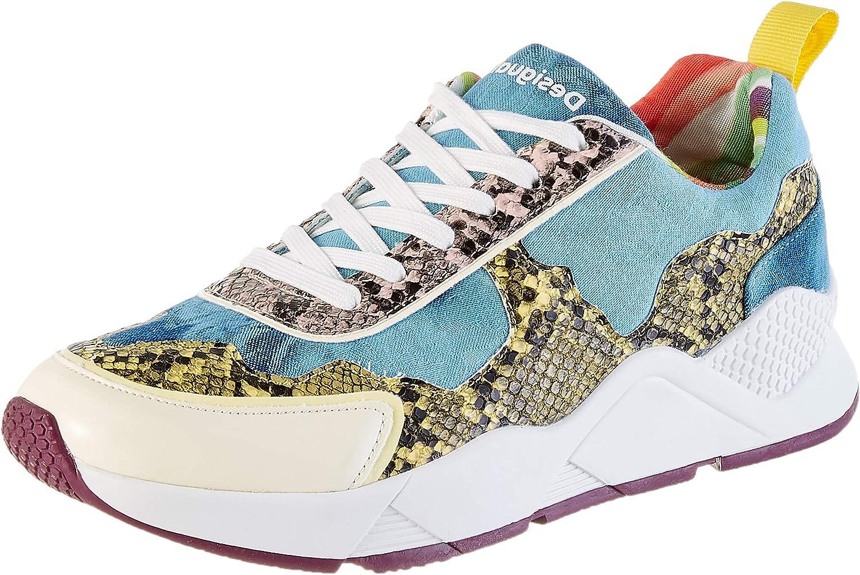 Desigual Shoes Hydra Hybrid, Sneaker Donna Blu Jeans 5006