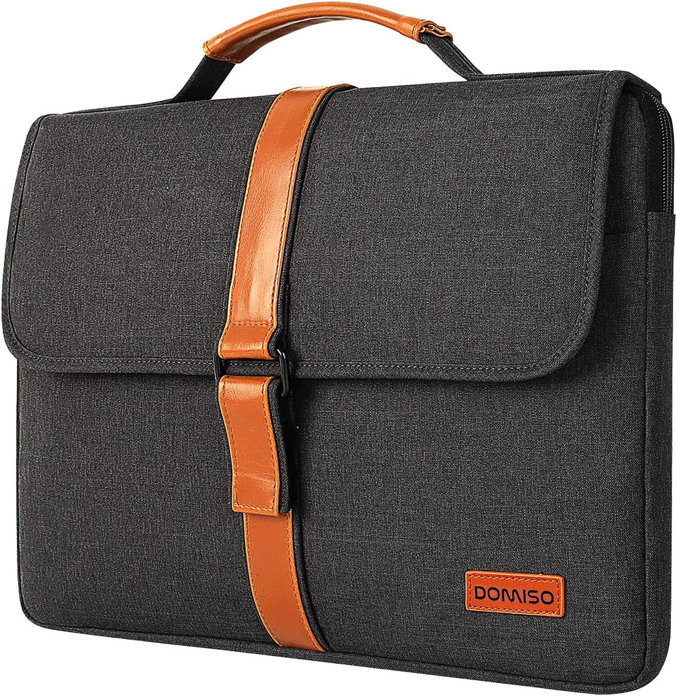 DOMISO 17-17.3 Inch Laptop Sleeve Case Notebook Shockproof Handbag Compatible with 17