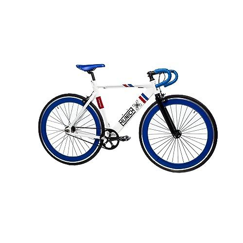 Moma Bikes Bicicleta Fixie Urbana, Fixie MUNICH SPORT RETRO , Full Alu  (Varias Tallas)