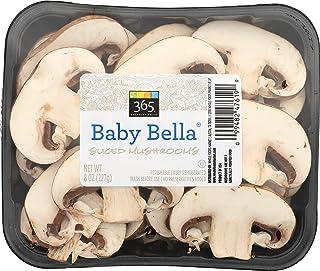 365 Everyday Value, Baby Bella Sliced Mushrooms, 8 oz
