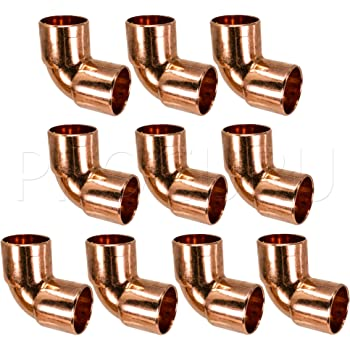 """50 3//4/"""" Copper Cap CxC End Cap For Pipes /& Tubes Made In USA Elkhart"""