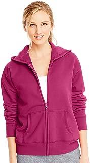 Hanes Women's Fleece Full-Zip Hood