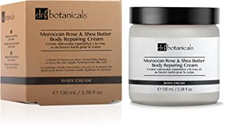 Dr Botanicals Vegan Moroccan Rose & Shea Butter Body Cream with Shea Butter and Apricot Kernel Oil - Anti Ageing Natural V...