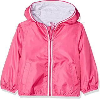 chicco Baby K-Way Raincoat, Pink (Rosa Scuro 018), 24 (Size: 056)