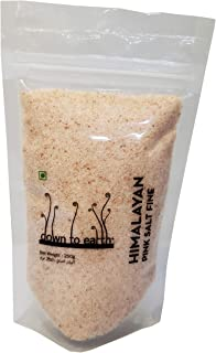 Fine Natural Pink Salt by Down to Earth; Organic Pink Salt for Regular Cooking - 250g
