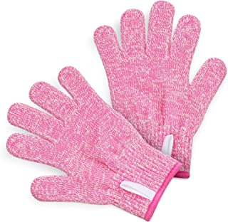 TruChef KIDS Cut Resistant Gloves (Ages 12+ or Adult XS) - Maximum Kids Cooking Protection. Safe hands from REAL Kitchen Knives and Tools. Perfect for Oyster Shucking and Whittling.