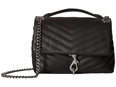 Rebecca Minkoff Edie Crossbody (Black 2) Cross Body Handbags