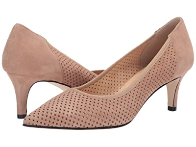 Cordani Naples-Perforated (Taupe Suede) Women