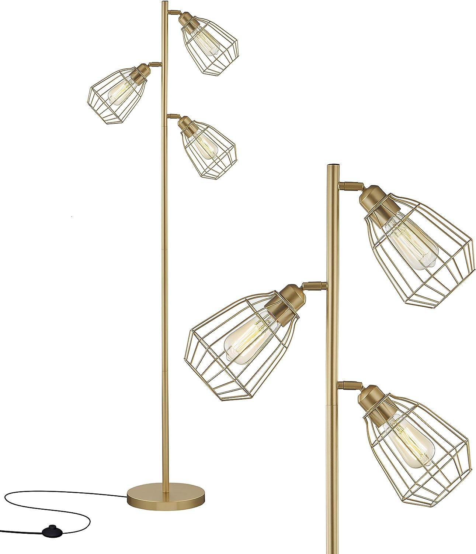 LeeZM Modern Gold Tree Floor for Liv shop Very popular Industrial Lamps Lamp