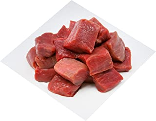 Australian Grass Fed Beef Knuckle Cube, 500g (Halal) - Chilled