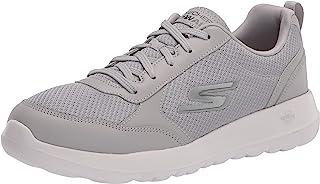 حذاء جو ووك ماكس اوتيس من سكيتشرز - حذاء الرياضيين المتميز بجزء علوي من قماش شبكي محبوك ورباطات مما يجعله مناسبًا للمشي