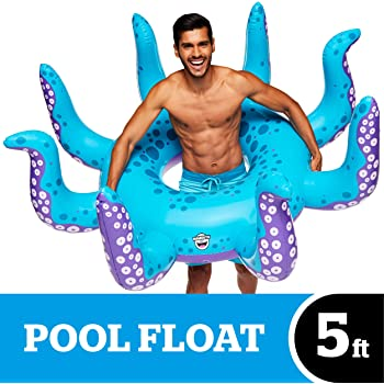 BigMouth Inc Giant Octopus Pool Float -Funny Inflatable Vinyl SummerPool or Beach Toy, Patch Kit Included