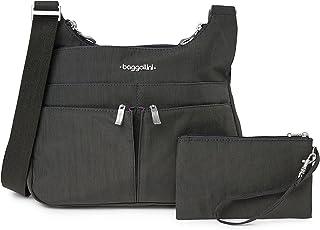 حقيبة كروس كروس كروس اوفر من بغاليني - محفظة سفر خفيفة الوزن ومقاومة للماء