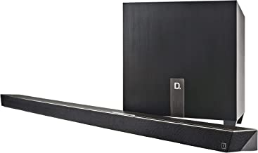 Definitive Technology W Studio Micro Ultra-Slim 3.1 Wireless Sound Bar & Wi-Fi Music Streaming System (Discontinued by Manufacturer) (Renewed)