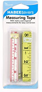 HABEE SAVERS XV251 Tape Measure 2 Pack