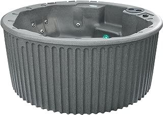 Essential Hot Tubs 20 Jets Arbor Hot Tub, Gray Granite