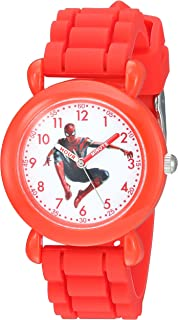 Marvel Kids' WMA000256 Marvel Infinity War Analog Display Analog Quartz Red Watch