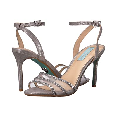 Blue by Betsey Johnson Veda (Silver) High Heels